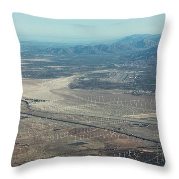 Coachella Valley Throw Pillow
