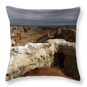 Coal Mine Mesa 08 Throw Pillow