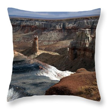 Coal Mine Mesa 09 Throw Pillow
