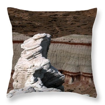Coal Mine Mesa 14 Throw Pillow
