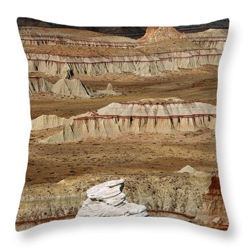 Coal Mine Mesa 19 Throw Pillow