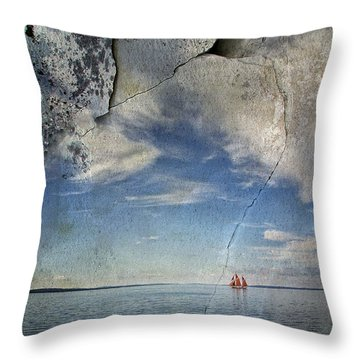 Coast Of Maine Throw Pillow