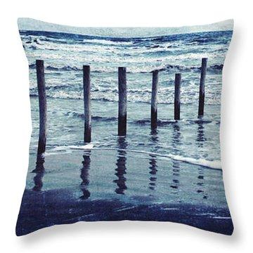 Coast  Throw Pillow by Svetlana Novikova