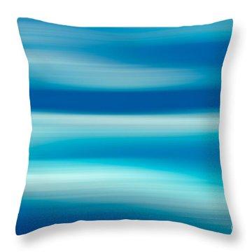 Coastal Horizon 7 Throw Pillow by Delphimages Photo Creations