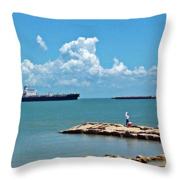 Coastal Living Throw Pillow