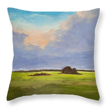 Coastal Magic Throw Pillow