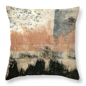 Coastal Solstice Throw Pillow by Carol Leigh