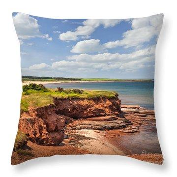 Prince Edward Island Throw Pillows