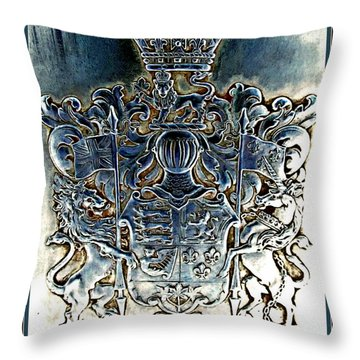 Coat And Armors  Throw Pillow by Danielle  Parent