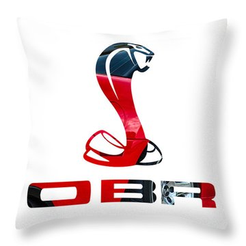 Cobra Throw Pillow by Michael White