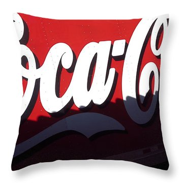 Coca Cola Horizon. Throw Pillow