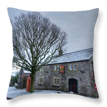 Cock And Pullet Pub Throw Pillow