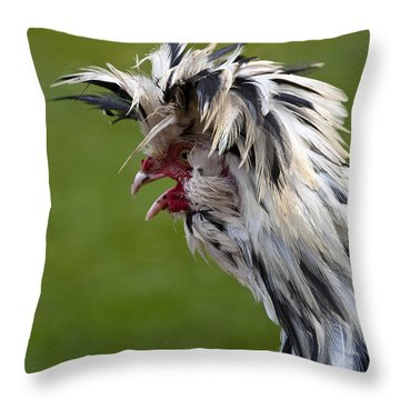 Cockadoodledo Throw Pillow