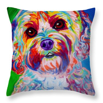 Cockapoo - Carmie Throw Pillow