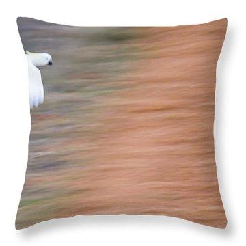 Cockatoo Throw Pillow