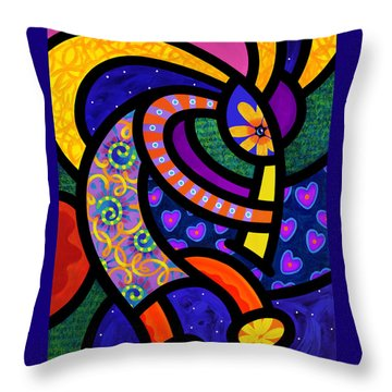 Coco Koko Pelli Throw Pillow