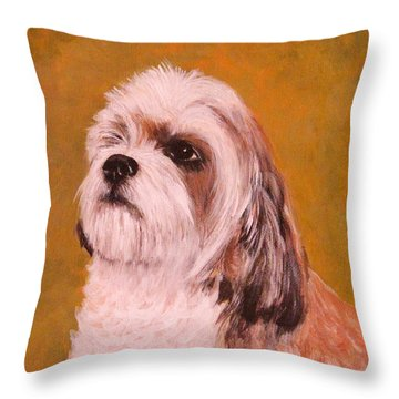 Coco-puffs Throw Pillow