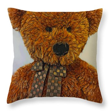 Coco Throw Pillow by Steven Richardson