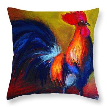 Cocorico Coq Gaulois Throw Pillow