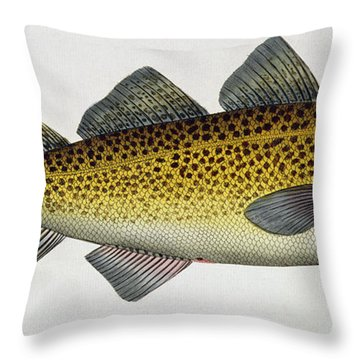 Cod Throw Pillow