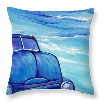 Coe Tow Truck Throw Pillow