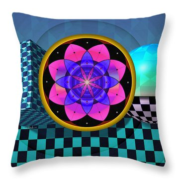 Coexist Throw Pillow