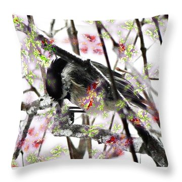 Cold And Damp 2 Throw Pillow by Mike Breau
