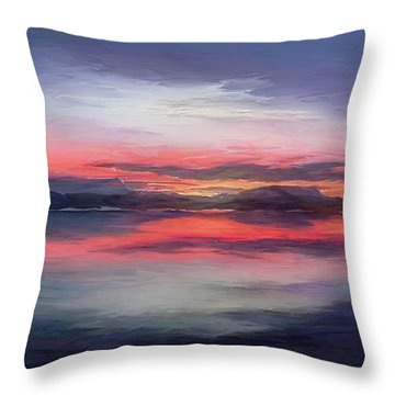 Cold Bay Throw Pillow