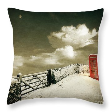 Cold Call Throw Pillow