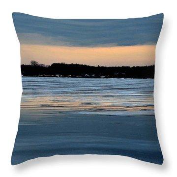 Cold Colour Wash 1 - Canada Throw Pillow