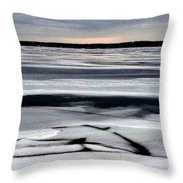 Cold Colour Wash 2 - Canada Throw Pillow