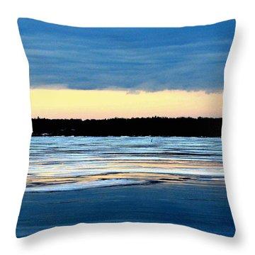Cold Colour Wash 3 - Canada Throw Pillow