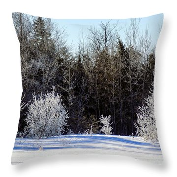 Cold Magic Throw Pillow