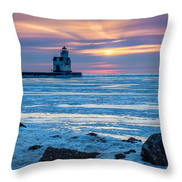 Cold Pastels Throw Pillow