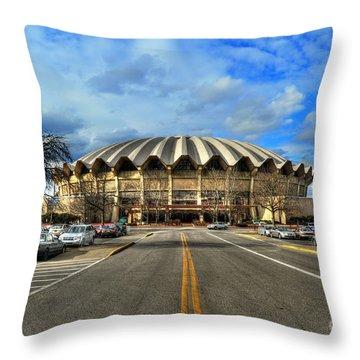 Coliseum Daylight Throw Pillow by Dan Friend