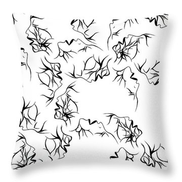Collaborate Throw Pillow