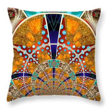Collective 01 Of 26 Throw Pillow