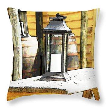 Colonial Light Throw Pillow