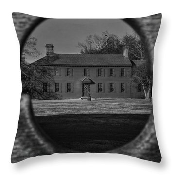 Colonial Perspectives I Throw Pillow