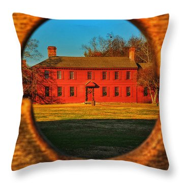 Colonial Perspectives Throw Pillow