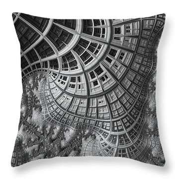 Colony II Throw Pillow by John Edwards