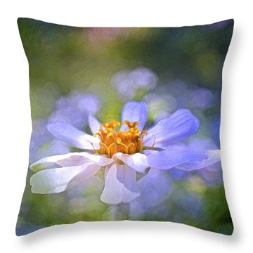 Color 121 Throw Pillow by Pamela Cooper