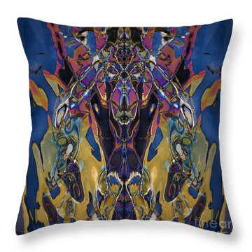 Color Abstraction Xxi Throw Pillow