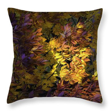 Color Calls Throw Pillow