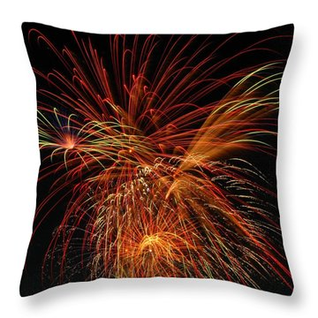 Color Design Throw Pillow by Optical Playground By MP Ray