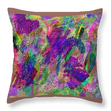 Color Dream Play Throw Pillow