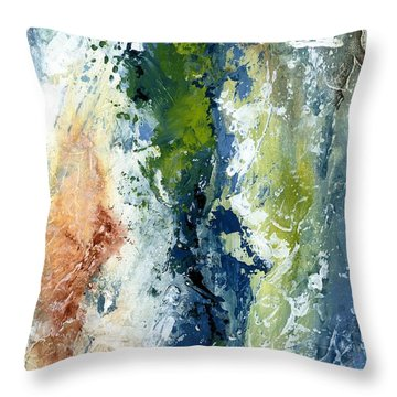 Color Harmony 10s Throw Pillow by Emerico Imre Toth