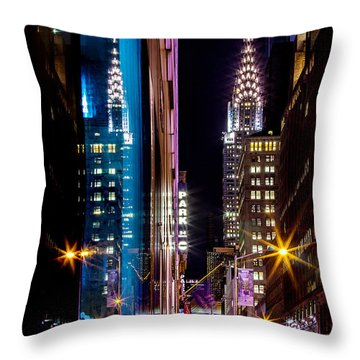 Late Throw Pillows