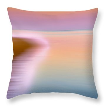 Color Of Morning Throw Pillow by Bill Wakeley