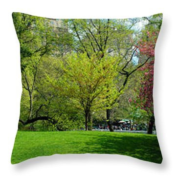 Throw Pillow featuring the photograph Color Of Spring by Yue Wang